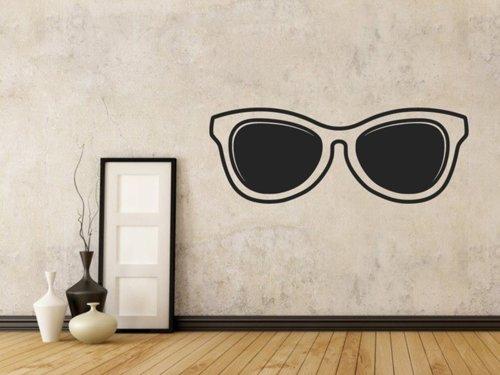 Samolepky na zeď Sluneční brýle 1288