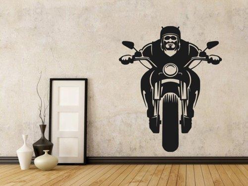 Samolepky na zeď Motorkář 1032