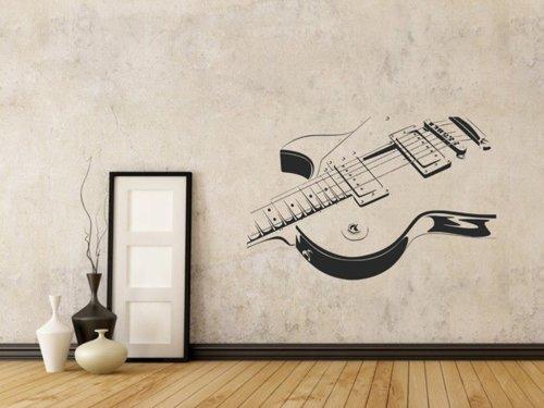 Samolepky na zeď Kytara 005