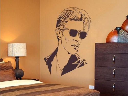 Samolepky na zeď David Bowie 001