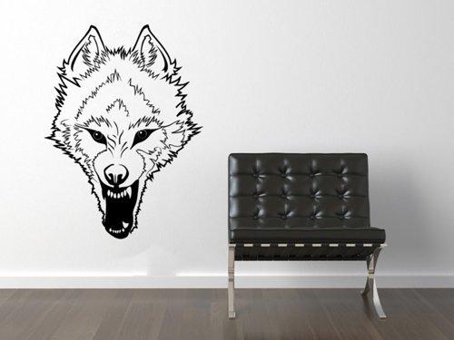 Samolepky na zeď Vlk 003