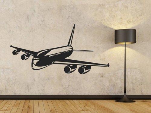 Samolepky na zeď Letadlo 0833