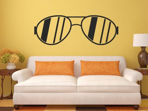 Samolepky na zeď Sluneční brýle 1284