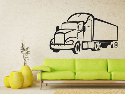 Samolepky na zeď Kamion 0747