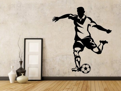 Samolepky na zeď Fotbalista 0586