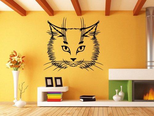 Samolepky na zeď Kočka 0473