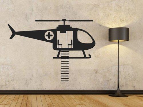 Samolepky na zeď Helikoptéra záchranářská 0816