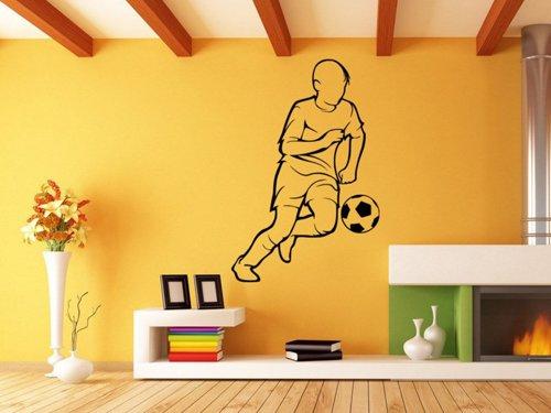 Samolepky na zeď Fotbalista 0593