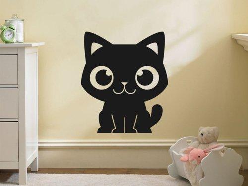 Samolepky na zeď Kočička 0528