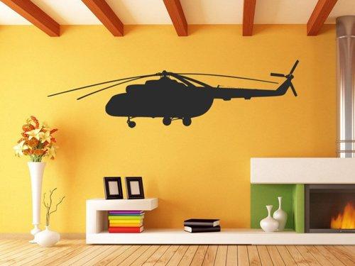 Samolepky na zeď Helikoptéra 0812