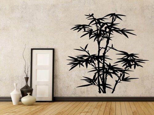 Samolepky na zeď Bambus 010
