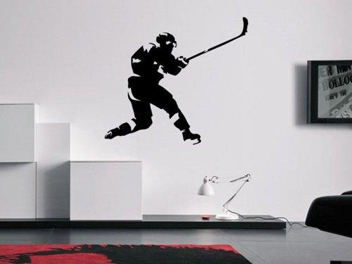 Samolepky na zeď Hokejista 0602