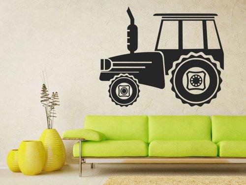 Samolepky na zeď Traktor 0717