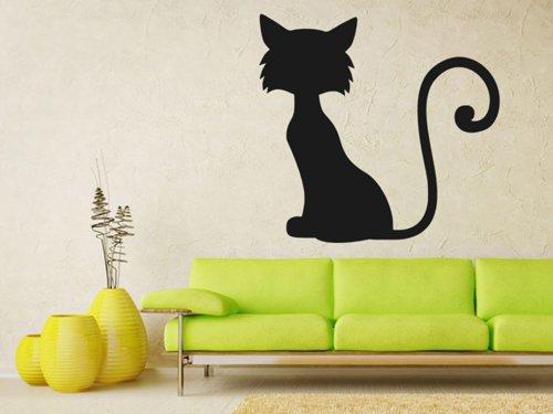 Samolepky na zeď Kočka 0502