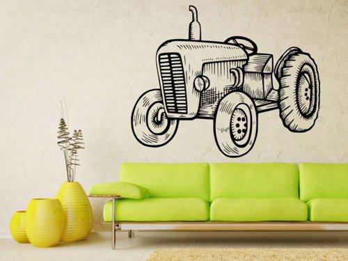 Samolepky na zeď Traktor 0724