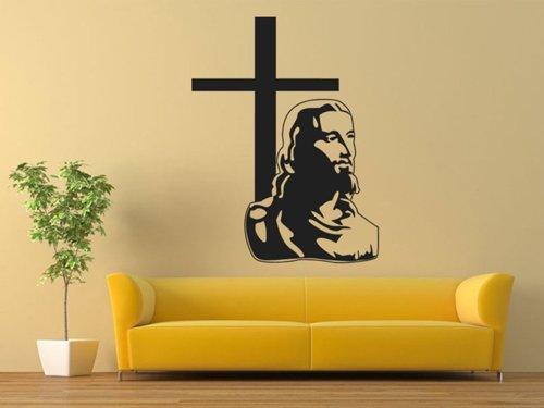 Samolepky na zeď Ježíš a kříž 1371