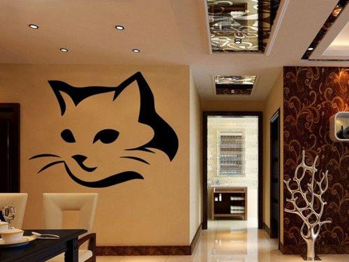 Samolepky na zeď Kočka 0469