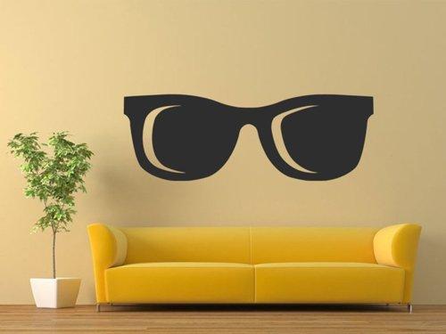 Samolepky na zeď Sluneční brýle 1281