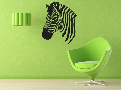 Samolepky na zeď Zebra 014