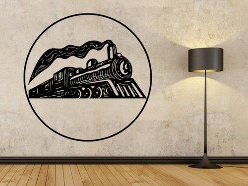 Samolepky na zeď Parní lokomotiva 0806