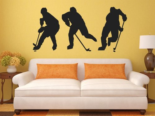 Samolepky na zeď Hokejisti 0694