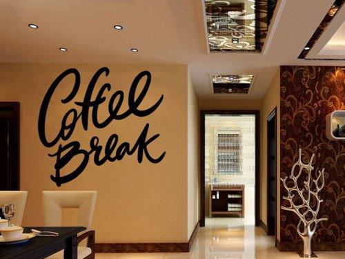Samolepky na zeď Nápis Coffee break 0660