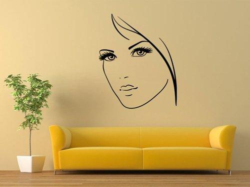 Samolepky na zeď Portrét ženy 1064