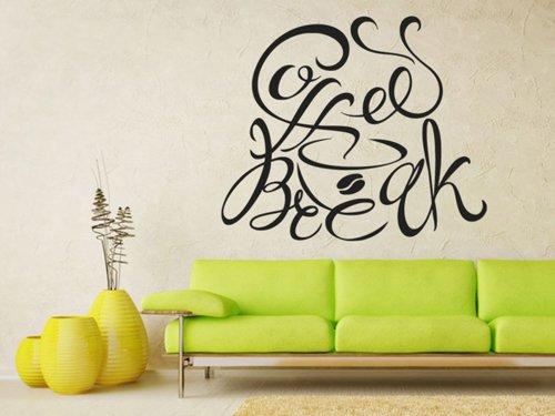 Samolepky na zeď Nápis Coffee break 0637