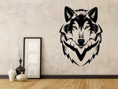 Samolepky na zeď Vlk 1402