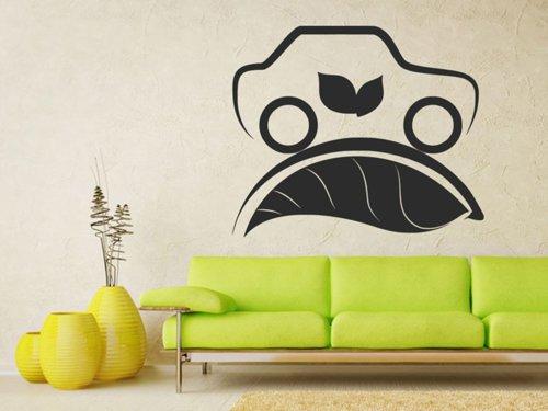 Samolepky na zeď Auto Eco Elektromobil 0901