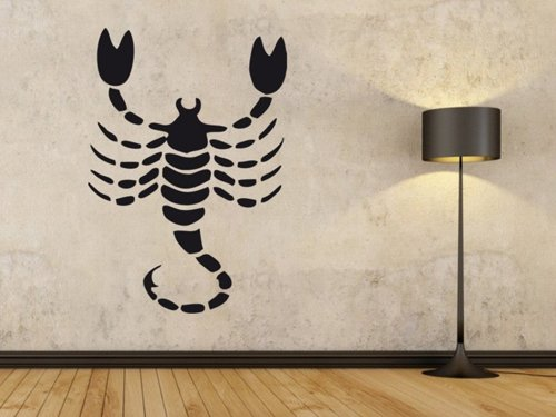 Samolepky na zeď Škorpión 003