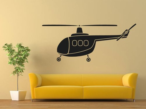 Samolepky na zeď Helikoptéra 0817