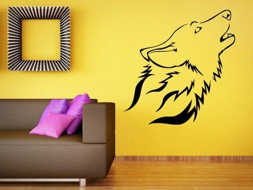 Samolepky na zeď Vlk 1399