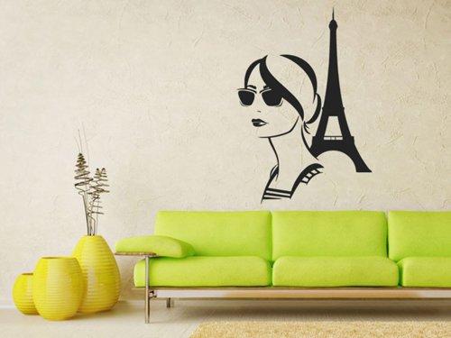 Samolepky na zeď Francouzka 1073