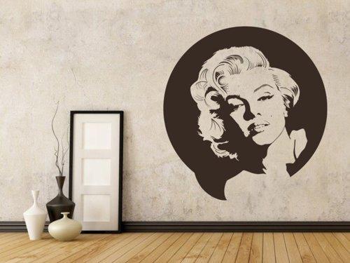 Samolepky na zeď Marylin Monroe 001