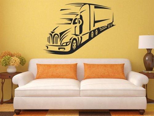 Samolepky na zeď Kamion 0742