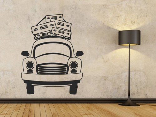 Samolepky na zeď Auto 0907