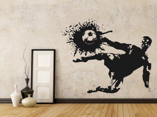 Samolepky na zeď Fotbalista 006