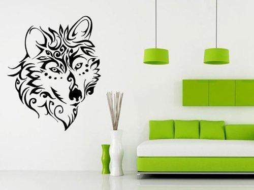 Samolepky na zeď Vlk 1409