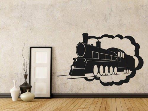 Samolepky na zeď Parní lokomotiva 0805