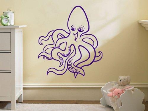 Samolepky na zeď Chobotnice 001