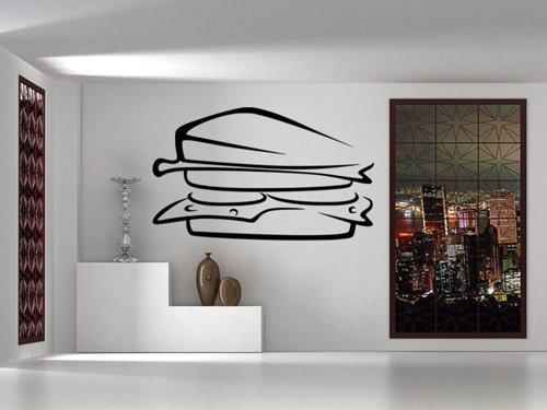 Samolepky na zeď Sandwich 0119