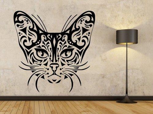 Samolepky na zeď Kočka 0482