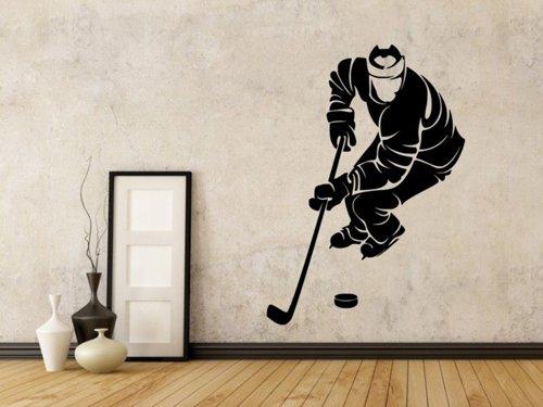 Samolepky na zeď Hokejista 0597