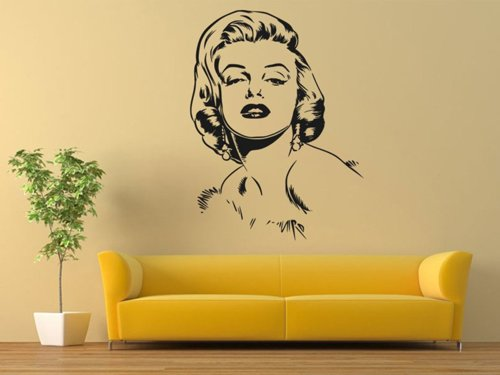 Samolepky na zeď Marilyn Monroe 1357