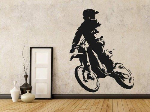 Samolepky na zeď Motorka 020