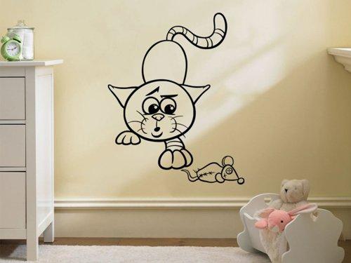 Samolepky na zeď Kočička 0525