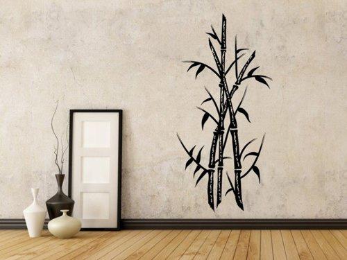 Samolepky na zeď Bambus 004