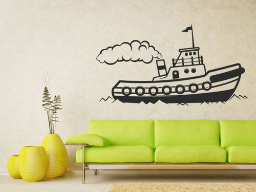 Samolepky na zeď Loď 0948