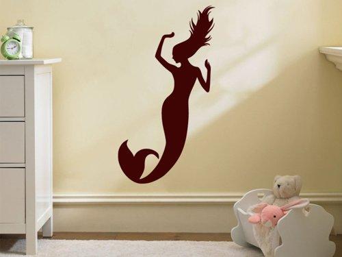 Samolepky na zeď Mořská panna 0283